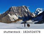 Porters Descending Hispar Pass  ...