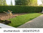 Construction Of New Lawn With...