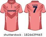 sports t shirt jersey design... | Shutterstock .eps vector #1826639465