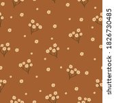 simple vintage pattern. small... | Shutterstock .eps vector #1826730485