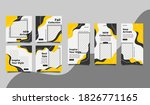 social media post and story... | Shutterstock .eps vector #1826771165