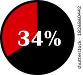 circle percentage diagrams... | Shutterstock .eps vector #1826860442