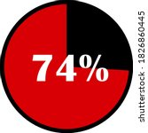 circle percentage diagrams... | Shutterstock .eps vector #1826860445