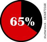 circle percentage diagrams... | Shutterstock .eps vector #1826873168