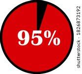 circle percentage diagrams... | Shutterstock .eps vector #1826873192