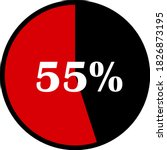 circle percentage diagrams... | Shutterstock .eps vector #1826873195