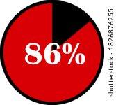 circle percentage diagrams... | Shutterstock .eps vector #1826876255