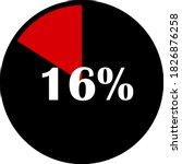 circle percentage diagrams... | Shutterstock .eps vector #1826876258