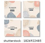 abstract social media post... | Shutterstock .eps vector #1826922485