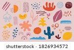 abstract doodle shape. scribble ...   Shutterstock .eps vector #1826934572