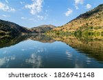 River Douro Flowing In The...