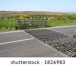 Cattle Grid In North Yorkshire...