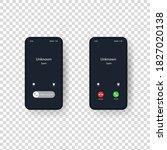 phone call screen template....