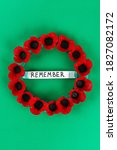 16 Diy Wreath Red Poppy Anzac...