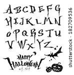 alphabet | Shutterstock .eps vector #182709536