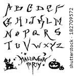 alphabet | Shutterstock .eps vector #182709572
