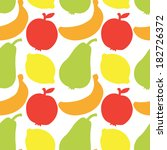seamless pattern with... | Shutterstock .eps vector #182726372