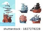 Pirate Ship. Marine Old...