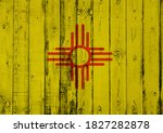 Flag Of New Mexico. Retro Style ...