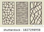 set of rectangular panels with...   Shutterstock .eps vector #1827298958