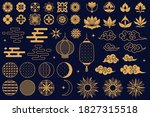 chinese elements. asian new... | Shutterstock .eps vector #1827315518