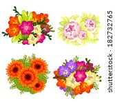 flower set | Shutterstock . vector #182732765