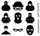 Thief  Criminal  Robber Icon...
