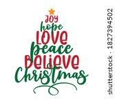 joy love peace believe... | Shutterstock .eps vector #1827394502