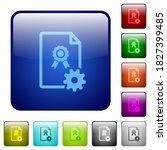 generating certificate icons in ...   Shutterstock .eps vector #1827399485
