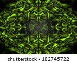 Green And Black Fantasy Organi...