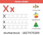 basic writing practice for... | Shutterstock .eps vector #1827470285