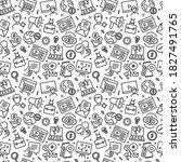 business marketing seamless... | Shutterstock .eps vector #1827491765