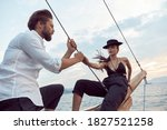 A Romantic Trip By Sea On The...