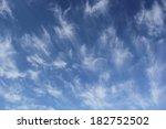 Cloudscape Of Cirrus Uncinus...