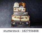 Old Vintage Traveling Suitcase...