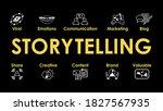 storytelling infographic banner.... | Shutterstock .eps vector #1827567935