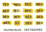 set sale tags set icons... | Shutterstock .eps vector #1827604985