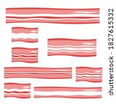 bacon icon set  isolated on...   Shutterstock .eps vector #1827615332