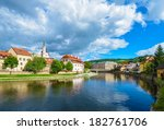 Czech Krumlov   Small City In...