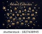 Christmas Advent Calendar.black ...