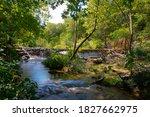Waterfall At Chickasaw...