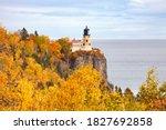 Split Rock Lighthouse On The...