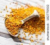 bee pollen   Shutterstock . vector #182770532
