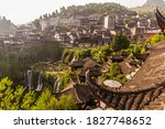 View Of Furong Zhen Town And...