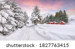 Stunning Winter Scenery With...