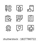 customer satisfaction line... | Shutterstock .eps vector #1827780722
