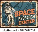 space research center vector... | Shutterstock .eps vector #1827782258