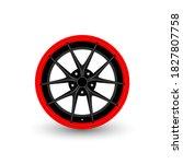 car wheel icon. simple...   Shutterstock .eps vector #1827807758