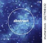 blur nebular mosaic vector...   Shutterstock .eps vector #1827908132