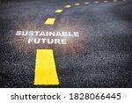 Sustainable Future Word On...